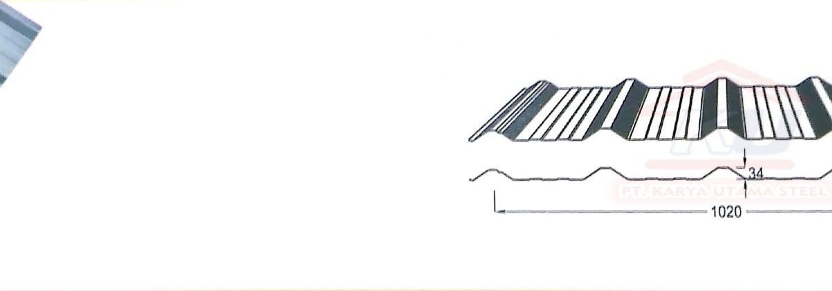 atap gelombang murah